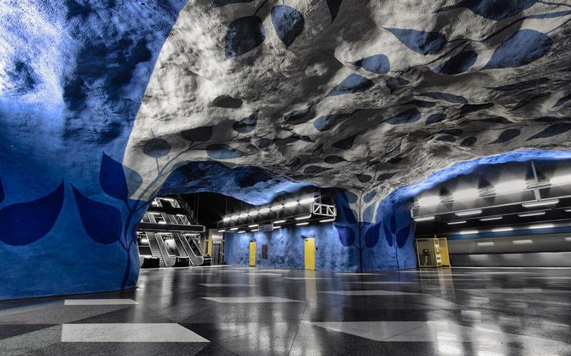 Станция метро Т-centralen (Стокгольм)