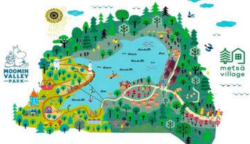 Япония обещает парк Муми-Троллей к 2018 году