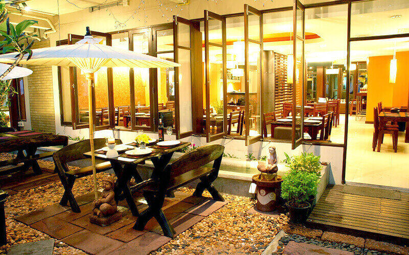 Ресторан в The Jomtien Twelve 3*, Паттайя, Таиланд
