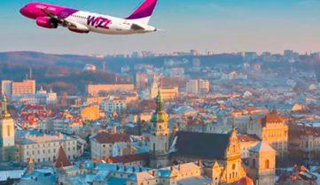 С 21 сентября самолеты Вроцлав — Львов — Вроцлав будут летать чаще!