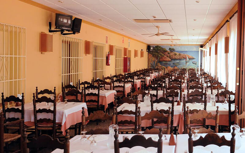 Ресторан Fergus Paradis Park 3*, Коста Дель Маресме, Испания