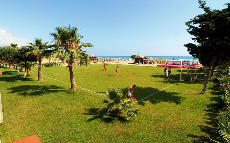 Территория Millennium Park Hotel 3*, Аланья, Турция