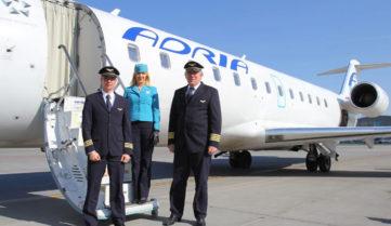 Авиарейсы на Любляну появятся в конце октября