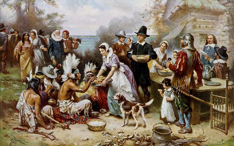История Дня благодарения в США
