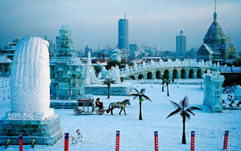 Фестиваль льда в Харбине