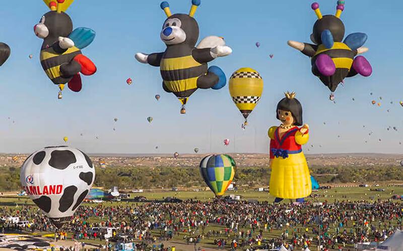 Парад необычных шаров