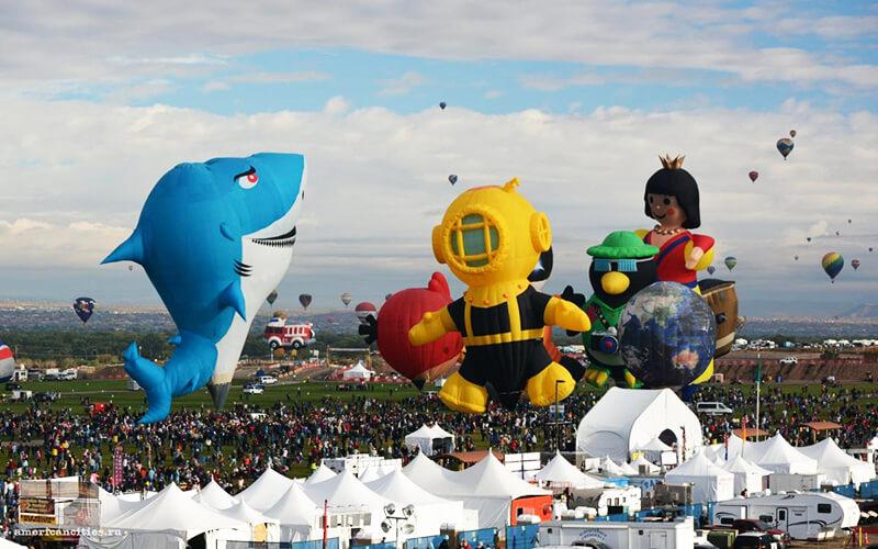 Парад шаров необычной формы