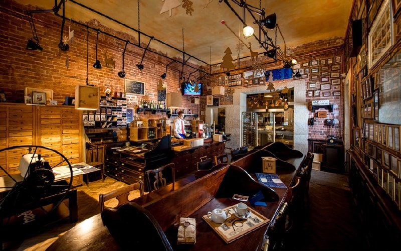 «Пошта на Друкарській» кафе
