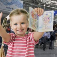 Как вписать ребёнка в загранпаспорт