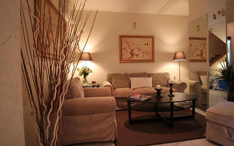 Зона відпочинку, Achillion Hotel 3*, Афіни, Греція