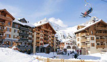 Франция приглашает в горы на Рождество