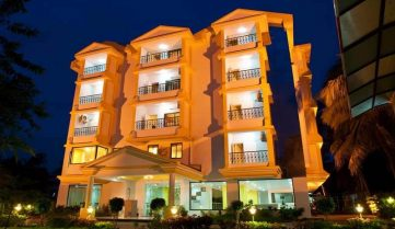 Colva Kinara Hotel 3*, Южный Гоа, Индия