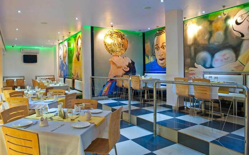 Ресторан в Colva Kinara Hotel 3*, Южный Гоа, Индия