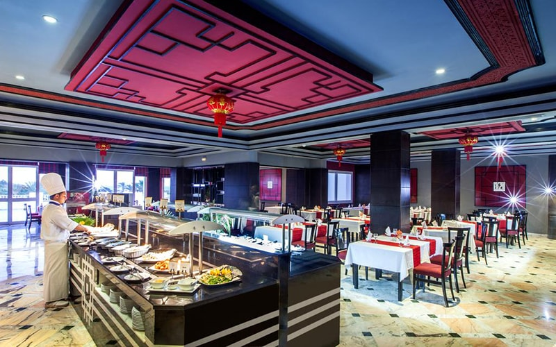 Ресторан в Vincci Marillia 4*, Хаммамет, Тунис