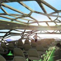 «Аеробус» обіцяє прозорі літаки