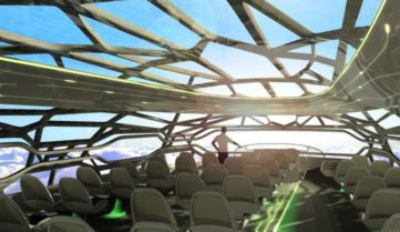 «Аэробус» обещает прозрачные самолёты