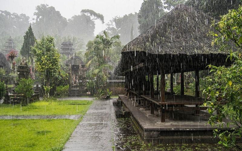 Сезон дощів на Балі