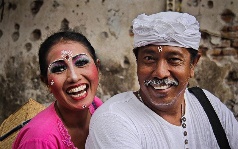Люди на Балі