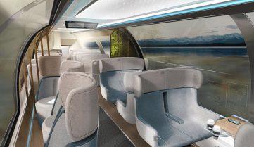 Германия запустит «поезд в будущее» в 2019 году