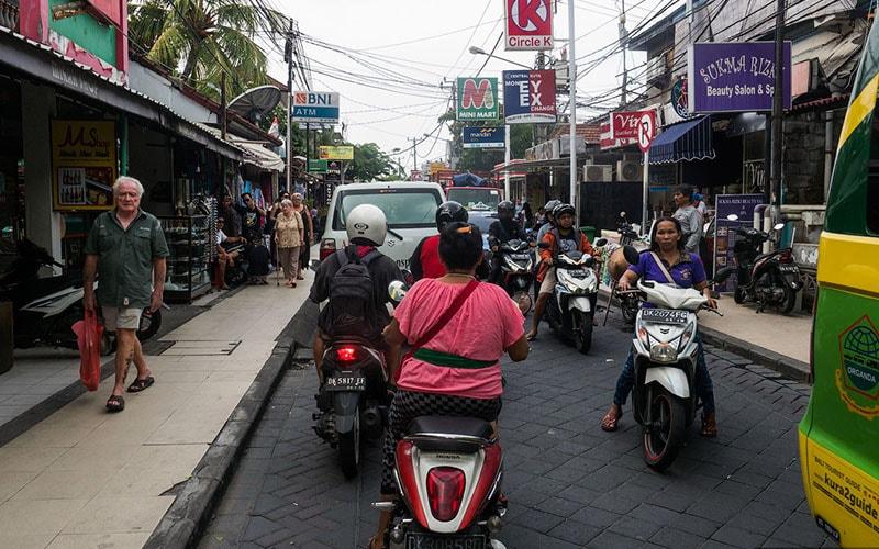 Пробки на Бали