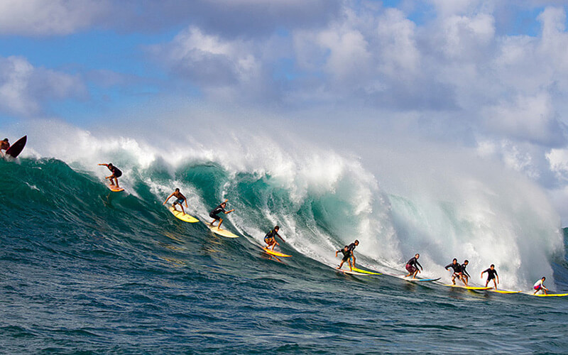 Серфінг на Балі
