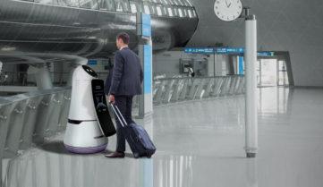 В аеропорту Сеула роботи шукають заблукалих