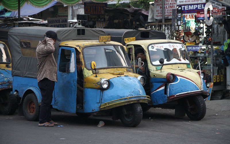 Нет общественного транспорта на Бали