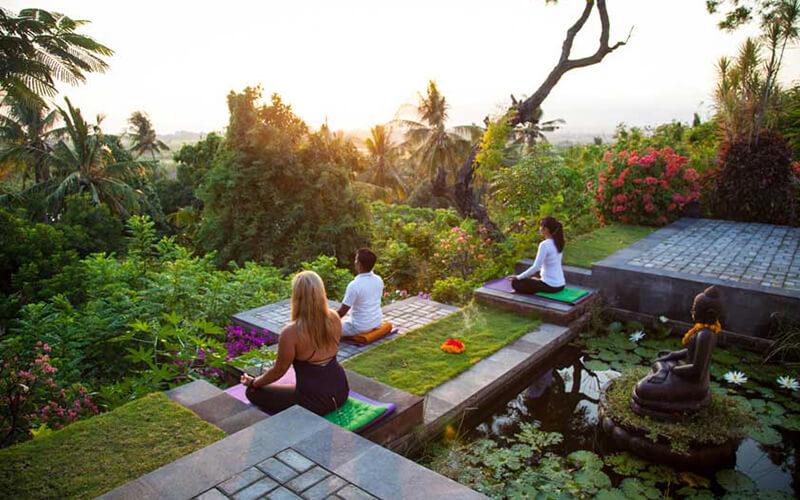 Йога на Балі