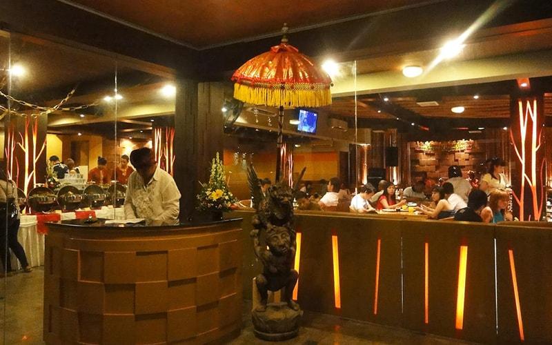 Ресторан в Bali Bungalo 3*, Кута (о. Бали), Индонезия