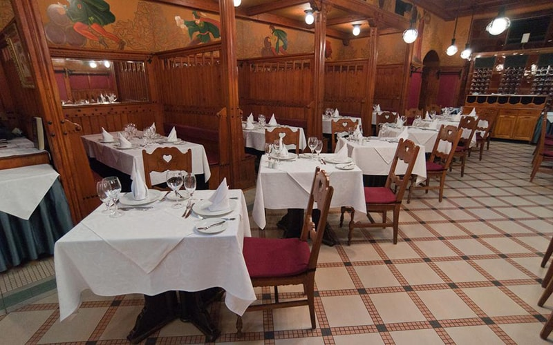 Ресторан в City Hotel Matyas 3*, Будапешт, Угорщина