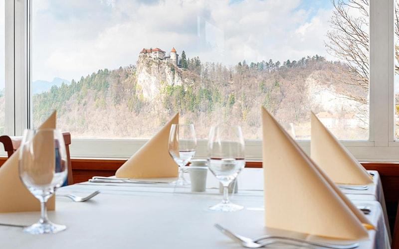 Ресторан Golf Hotel 4*, Блед, Словения