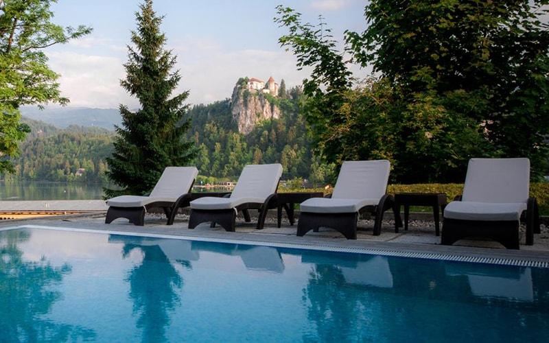 Бассейн Golf Hotel 4*, Блед, Словения