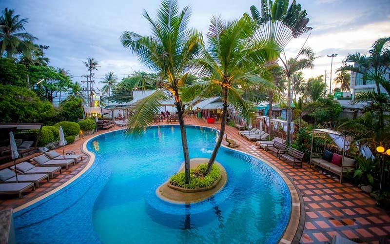 Территория Natural Park Resort 3*, Паттайя, Таиланд
