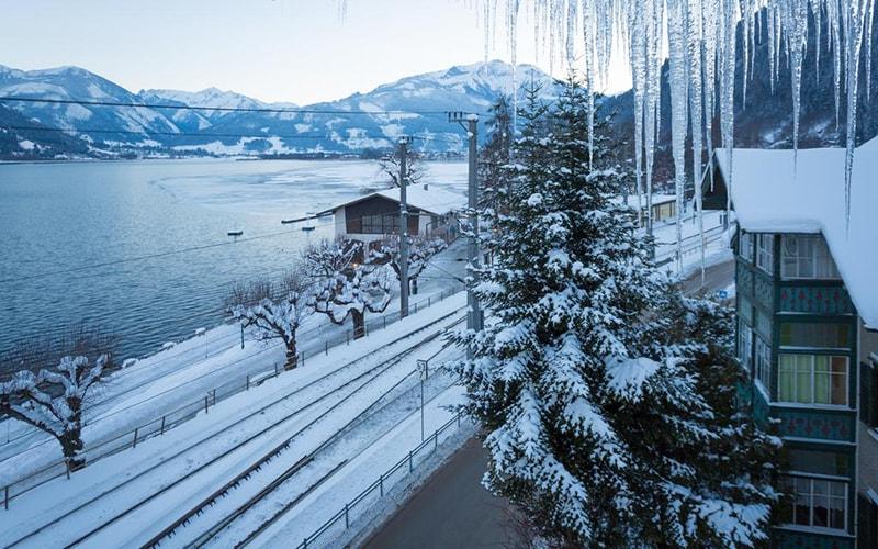 Вид з вікна Seehof Hotel 3*, Цель ам Зее, Австрія