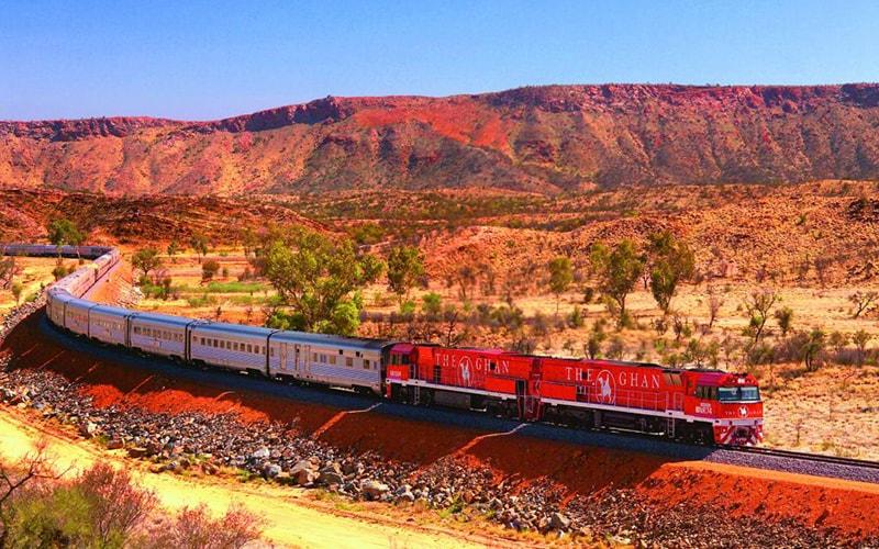 Поезд The Ghan