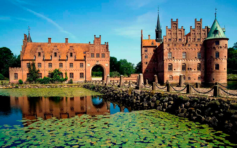 Крупные города Дании