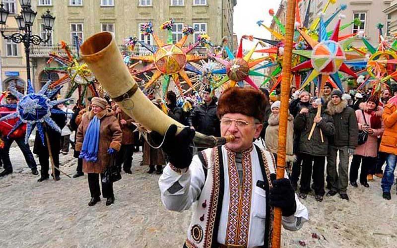 Праздники во Львове