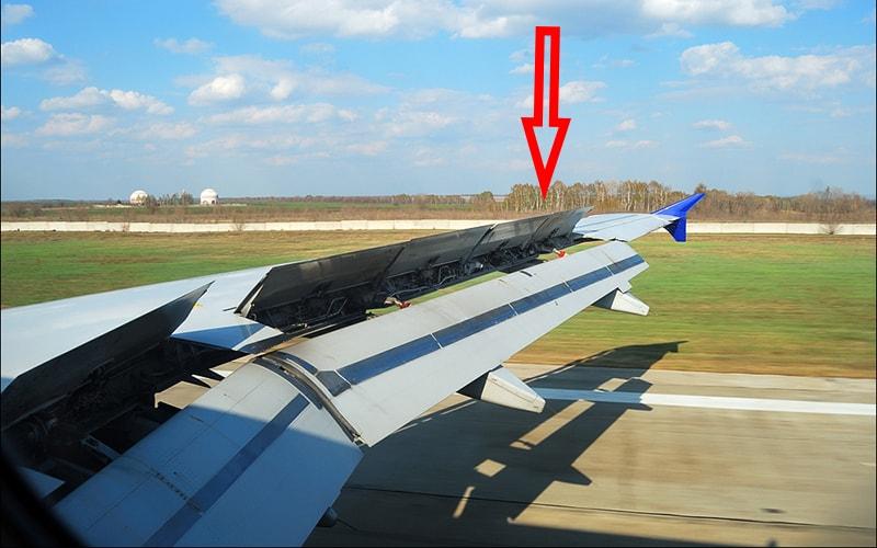 Спец сигнали закрилками літака