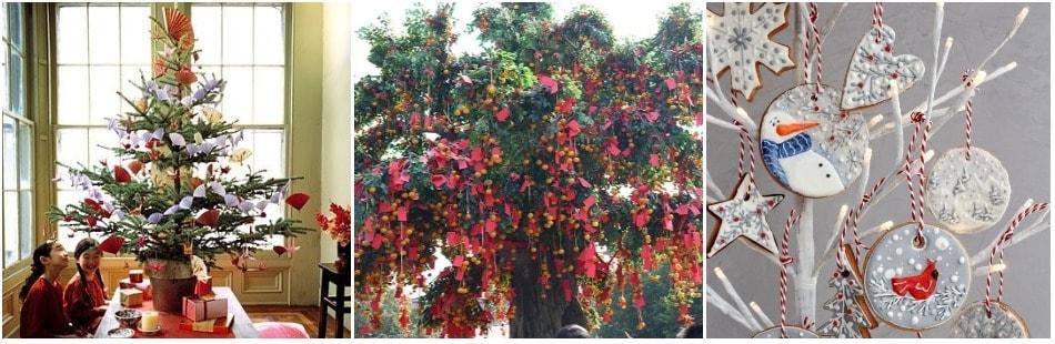 Азиатское новогоднее дерево