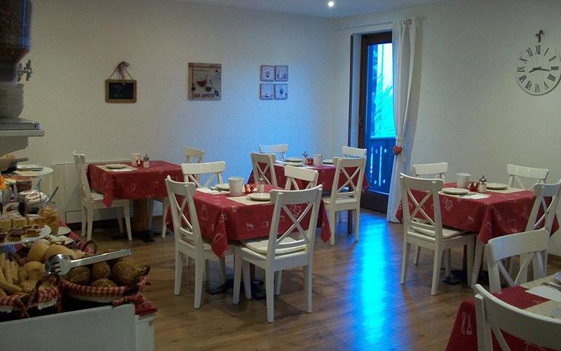 Кафе в Garni San Lorenzo 3*, Пінцоло, Італія