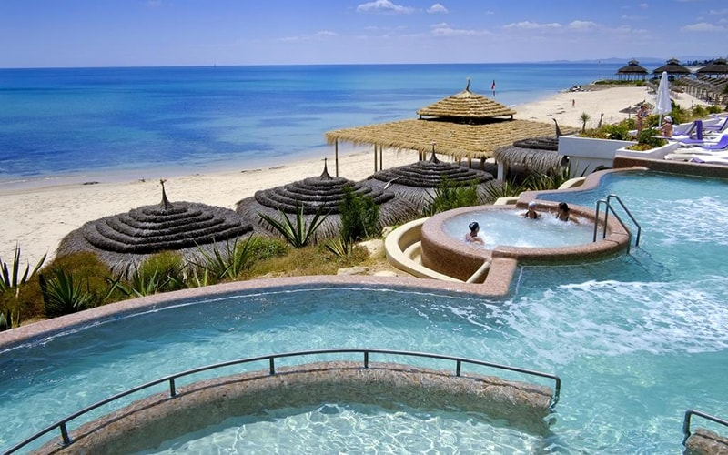 Бассейн Novostar Premium Bel Azur Thalassa 4*, Хаммамет, Тунис