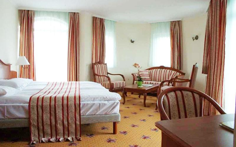 Номер в Sante Hotel 3*, Хевиз, Венгрия