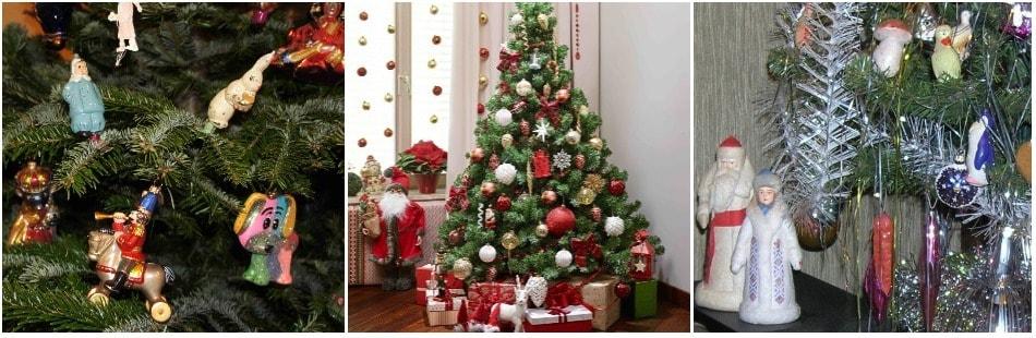 Новогоднее дерево в Украине
