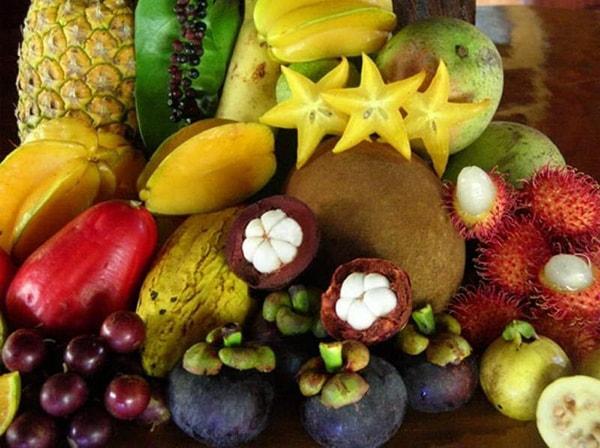 Тропические фрукты названия