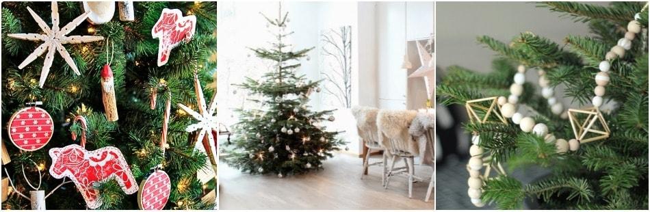 Новогодняя ель в Финляндии