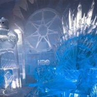 В Лапландии открыт ледовый отель с фигурами из «Игры престолов»