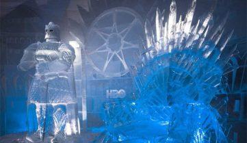 У Лапландії відкрито льодовий готель з фігурами з «Гри престолів»