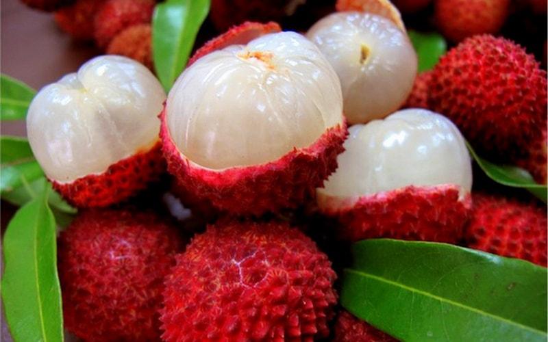 Экзотические фрукты личи