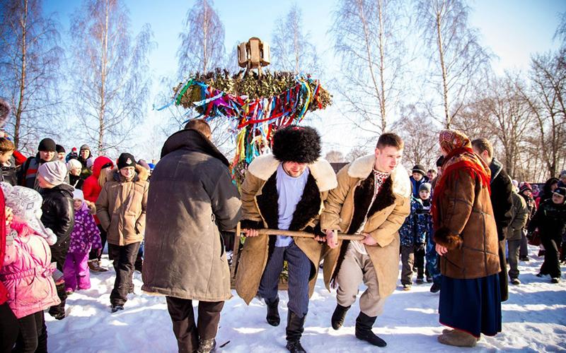 Масленица в Украине
