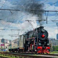 На праздники вокруг Киева будет курсировать ретро-поезд